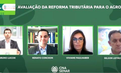 CNA debate as propostas de reforma tributária e os impactos para o agro