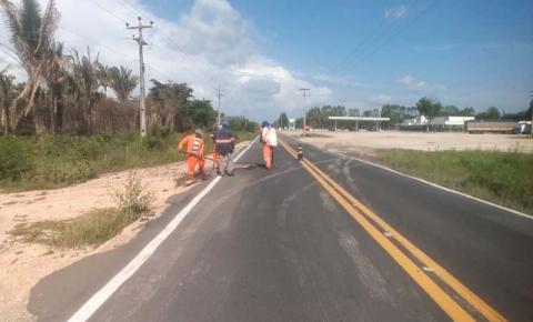 Governo reforça equipes de manutenção nas rodovias estaduais