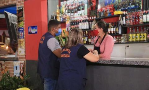 Vigilância Sanitária contabiliza mais de 200 inspeções durante Operação Carnaval