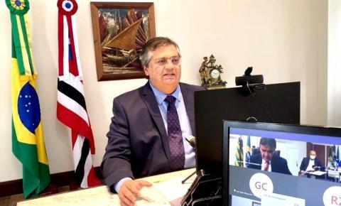 Em reunião com ministro, governador Flávio Dino discute calendário de vacinação