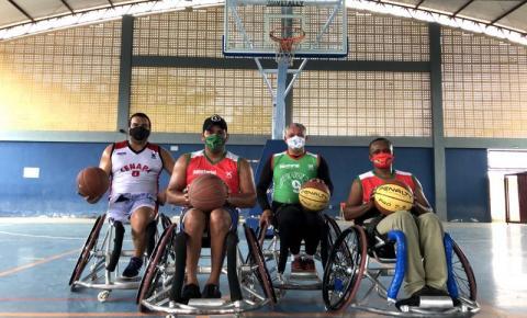 """Dia do Esportista: os desafios do """"Basquete sobre rodas"""" para 2021"""
