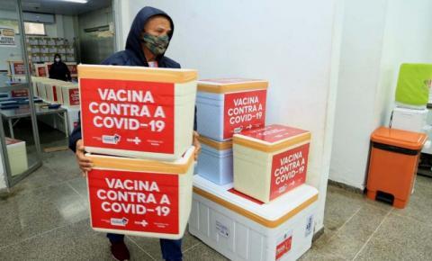 Governo do Estado distribui segunda dose da CoronaVac para os municípios