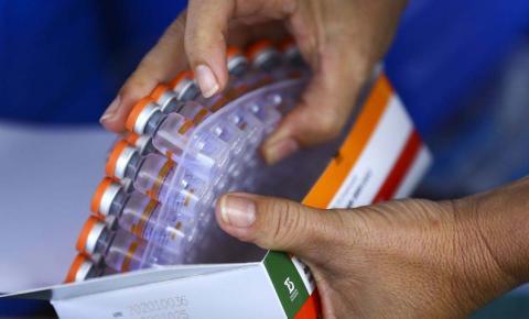 Ministério da Saúde distribuirá mais 3,2 milhões de doses de vacina