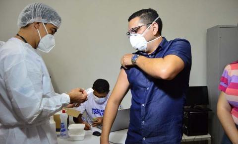 Vacinação: 7.128 pessoas imunizadas contra Covid-19 em Imperatriz