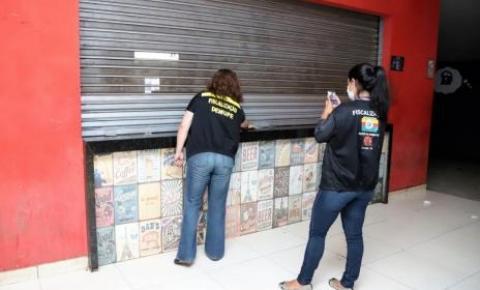 Mais sete bares são interditados por causa de aglomeração de pessoas em Araguaína