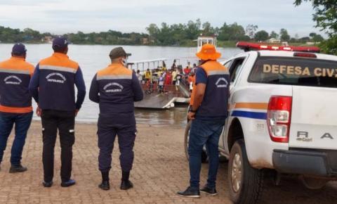 Defesa Civil prepara plano de ação para possíveis desabrigados