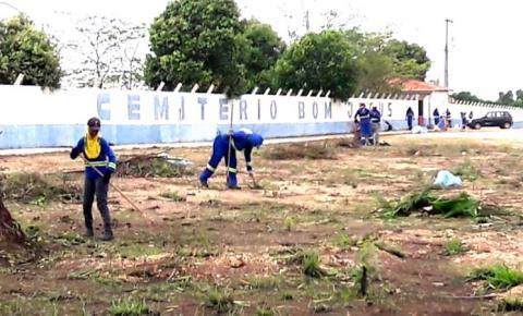 Março registra 31 mortos por Covid-19 sepultados no cemitério Bom Jesus
