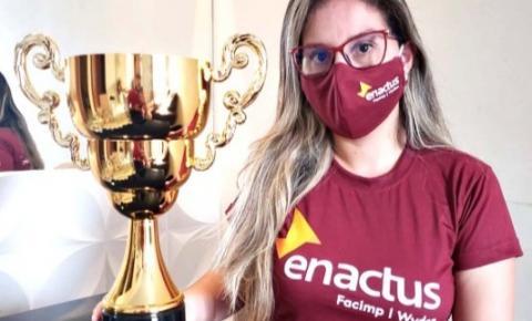 Time Enactus Facimp fica em 3º lugar em premiação de melhores projetos socioambientais
