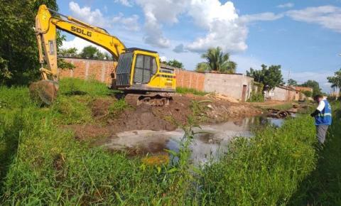 Prefeitura executa serviço de drenagem em diversos pontos de Imperatriz