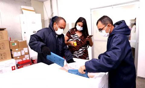 Maranhão recebe sétimo lote com mais de 116 mil doses da vacina CoronaVac