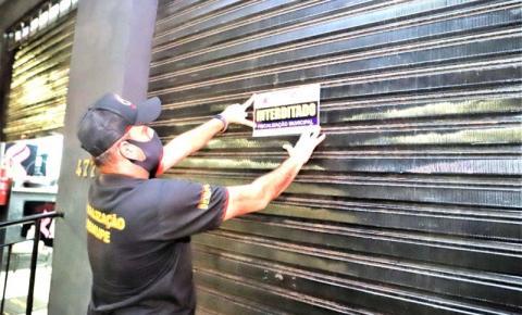 Força Tarefa interdita duas academias em Araguaína por descumprimento às medidas contra covid