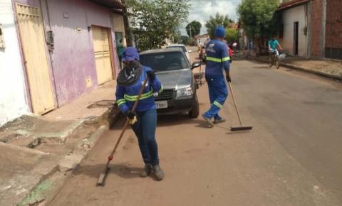Dom Pedro I recebe ações de limpeza urbana