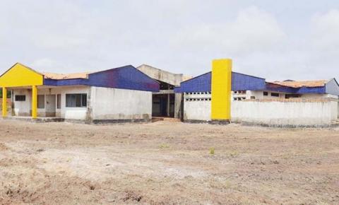 Creche inacabada em Ribamar Fiquene  é um desafio para o prefeito Cociflan