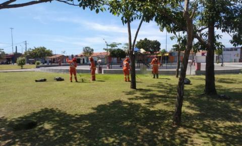 Beira Rio recebe equipes do Arrastão da Limpeza