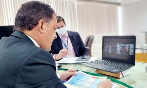Desembargador Joaquim Figueiredo pede ao ministro Barroso atenção especial ao TRE-MA