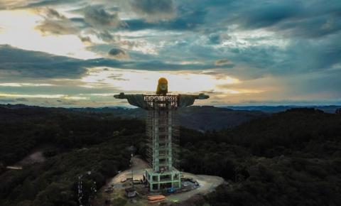 Cidade no Sul do Brasil terá estátua de Cristo maior que a do Rio