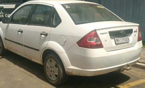3º BPM recupera carro e tv roubados em uma residência no Santa Rita