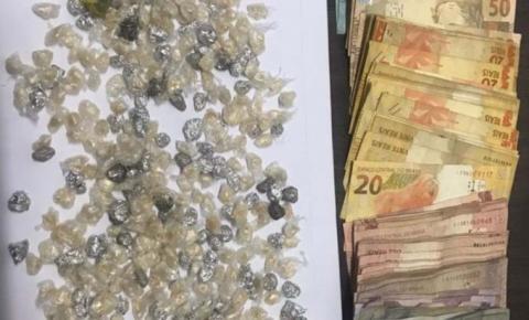 Homem é preso com drogas e dinheiro no interior do Maranhão