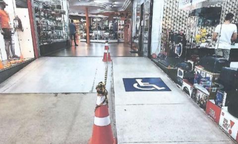 A pedido do Ministério Público, shopping garante acessibilidade