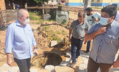 Parceria do deputado Hildo Rocha com prefeito Fernando Teixeira impulsiona desenvolvimento de Cidelândia