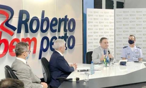 Oportunidades para Alcântara foram destaque em Live do senador Roberto Rocha e ministro Marcos Pontes