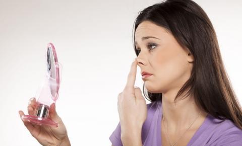 Corrigindo as imperfeições do nariz