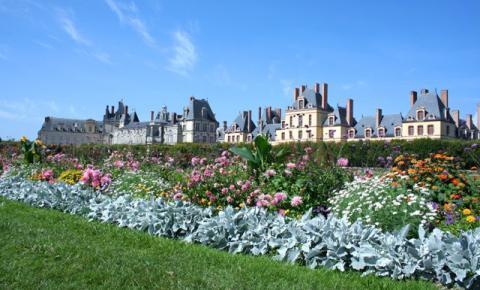 O Castelo Fontainebleau é uma das grandes obras da arquitetura mundial