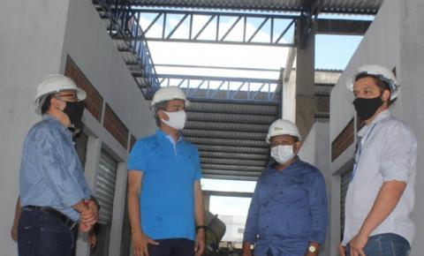 Comitiva de Açailândia visita obras do Shopping da Cidade