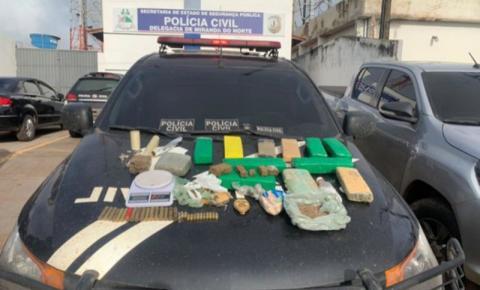 Polícia Civil desmonta esquema de tráfico de drogas no interior do estado