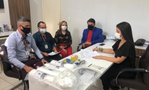 Secretaria Municipal de Saúde recebe doação de materiais e EPI's da UFMA