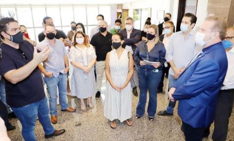 Governador Carlesse confirma apoio a donos de bares e restaurantes e a liberação de R$ 50 milhões em linhas de crédito para o setor durante a pandemia