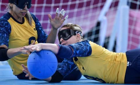 Goalball brasileiro enfrenta atuais campeões na 1ª fase