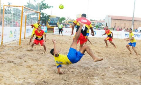 São Luís sedia a segunda etapa do Maranhense de Beach Soccer
