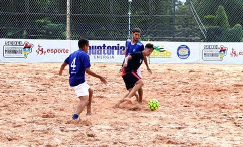 São Luís, Ribamar e Paço estreiam com vitória no Maranhense de Beach Soccer
