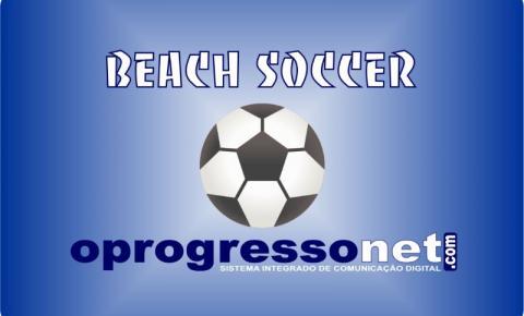 Maranhense de Beach Soccer chega a Santa Inês