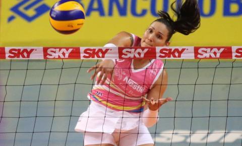 Brasil não é favorito para ganhar a Olimpíada, afirma a oposta Tandara