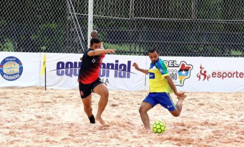 Quarta etapa do Maranhense de Beach Soccer chega a Lima Campos