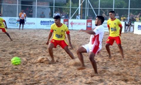 Definidos os semifinalistas da 4ª etapa do Maranhense de Beach Soccer