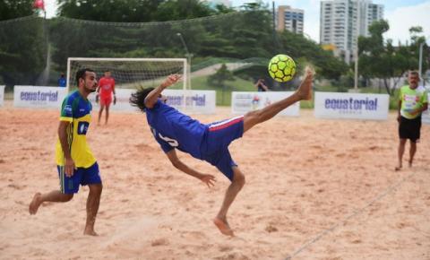 Viana recebe 5ª etapa do Maranhense de Beach Soccer a partir desta quarta