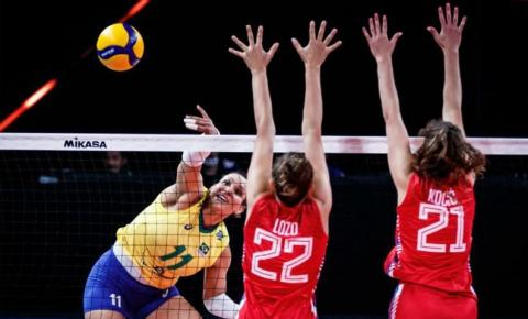 Brasil atropela Sérvia e mantém boa fase na Liga das Nações de Vôlei