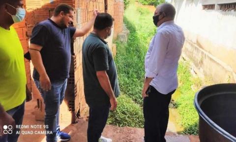 Hildo Rocha anuncia recursos para pavimentação  de avenida e canal de drenagem, em Campestre