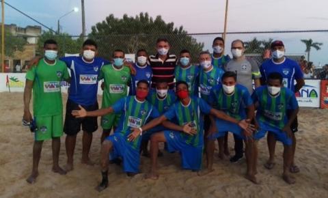 Viana conquista o título da 5ª etapa do Maranhense de Beach Soccer