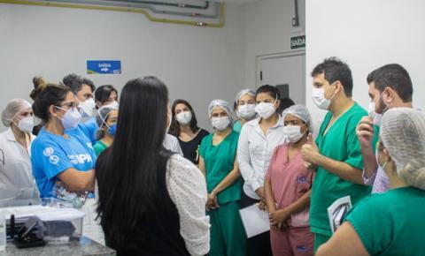 Organização Pan-Americana da Saúde visita unidades da rede estadual de saúde no Maranhão
