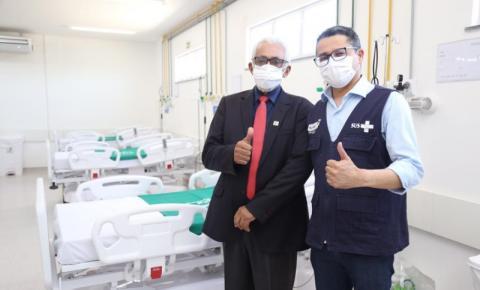 Com novos leitos, Governo amplia assistência a casos graves da Covid-19 em Grajaú