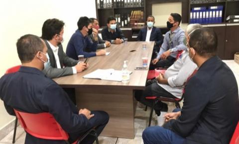Vereadores de João Lisboa se reúnem com gerente regional do Banco do Brasil em defesa das demandas da população