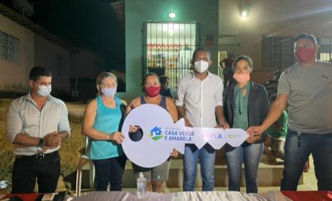 Deputado Josivaldo JP entrega chave do programa Casa Verde e Amarela em Açailândia