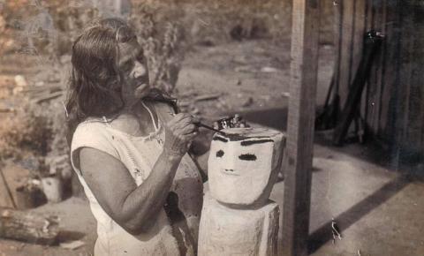Exposição com obras de Conceição dos Bugres fica no Masp até janeiro