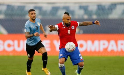 Chile e Uruguai empatam em 1 a 1 pela Copa América