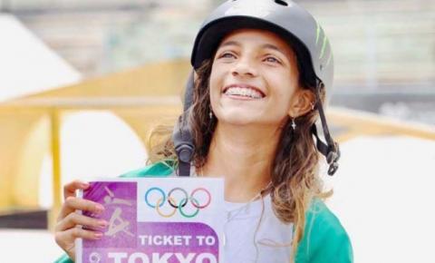 Rayssa Leal viaja amanhã para as Olimpíadas de Tóquio