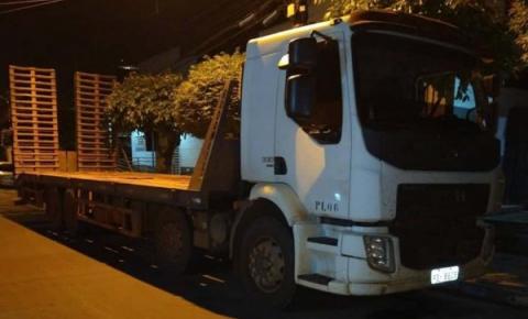 3º BPM recupera caminhão roubado em Governador Edison Lobão